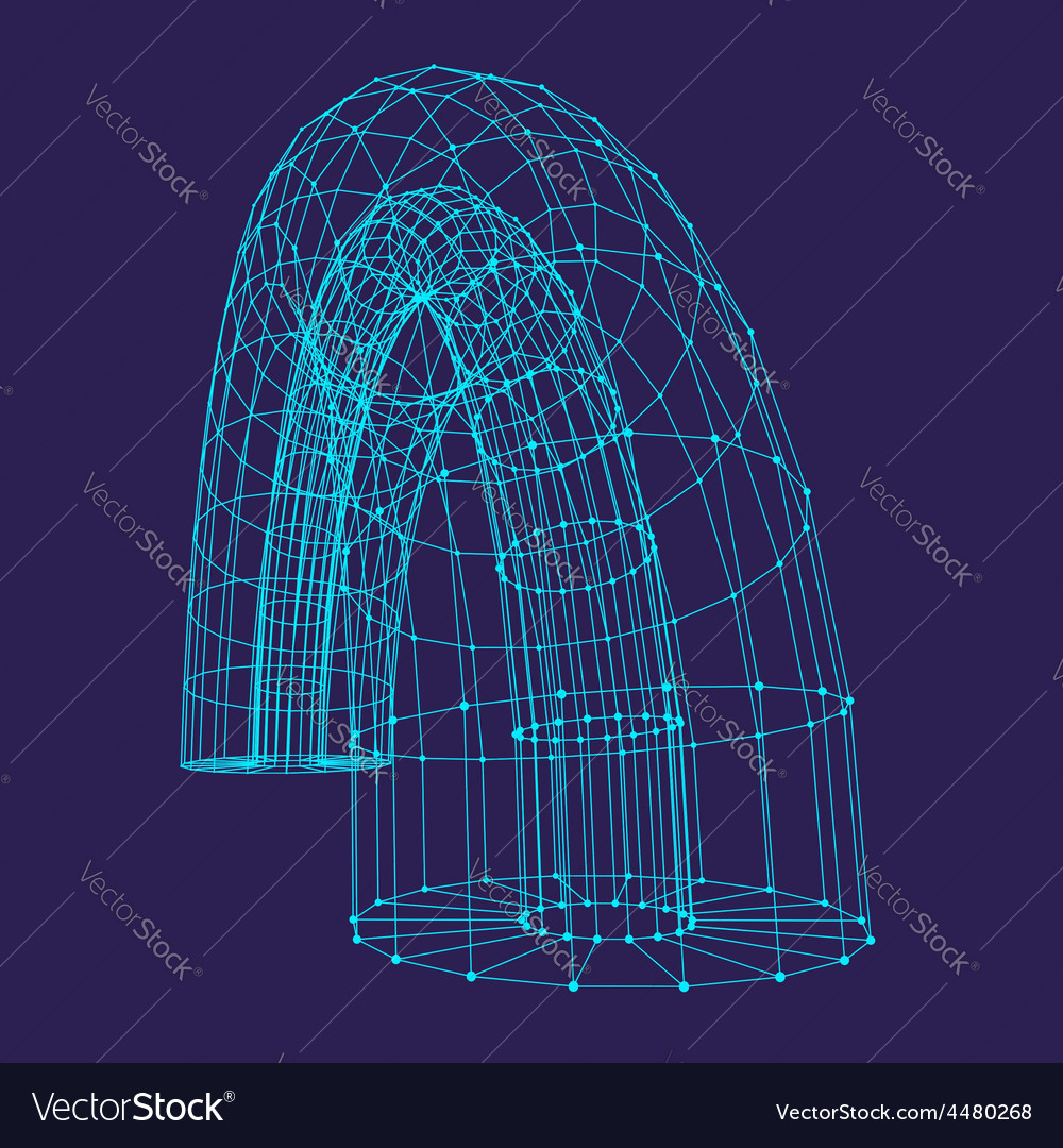 Abstract connection points and lines Graphic vector image
