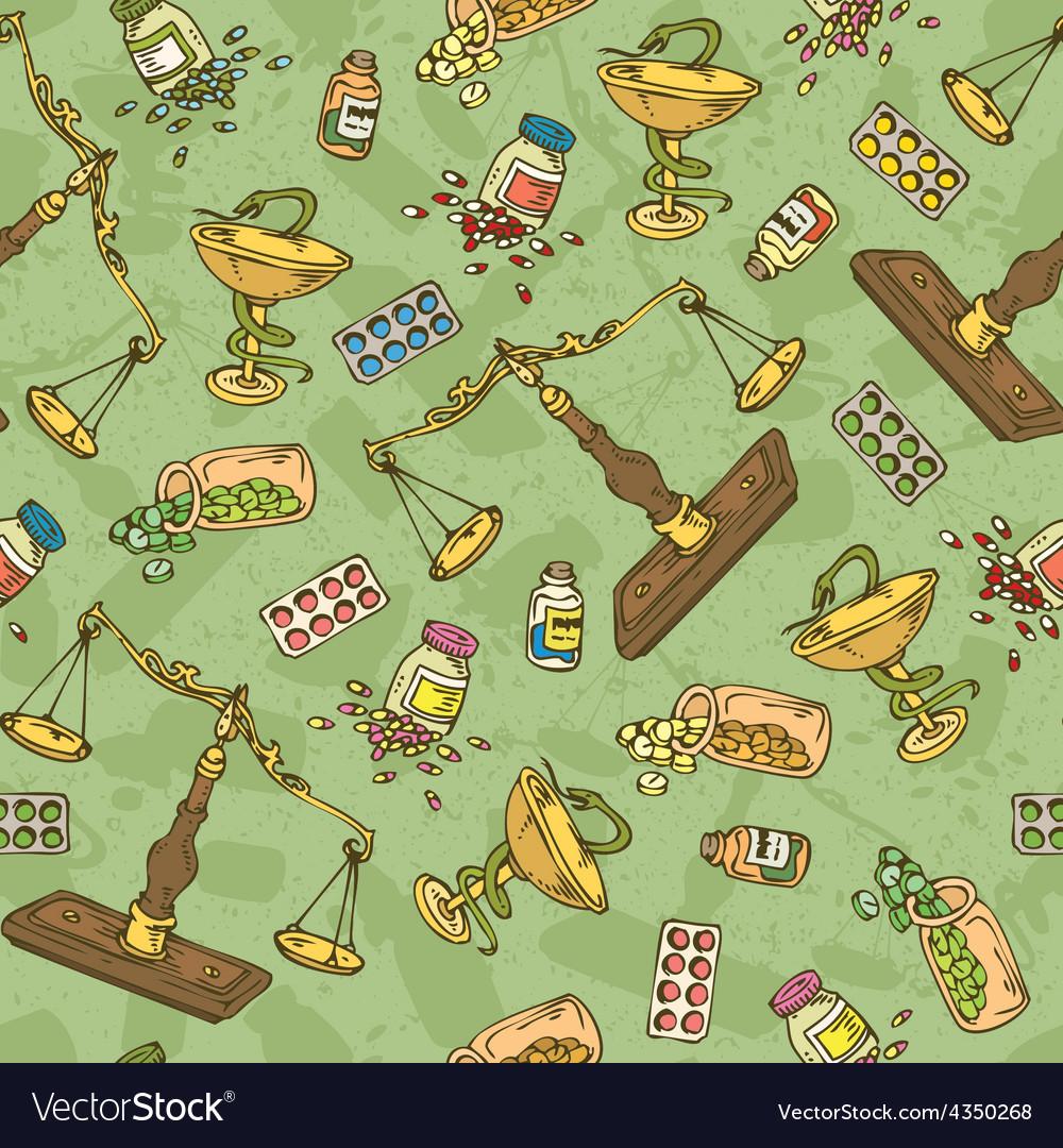 Pharmaceutical Seamless pattern