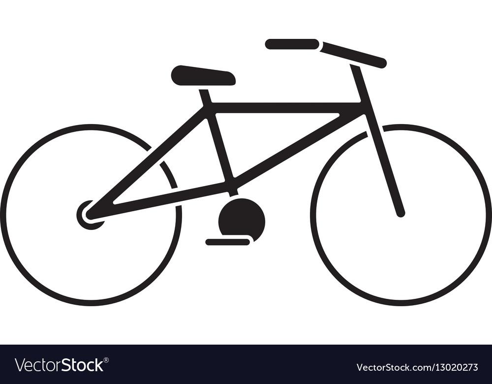 Bicycle transport ecology pictogram
