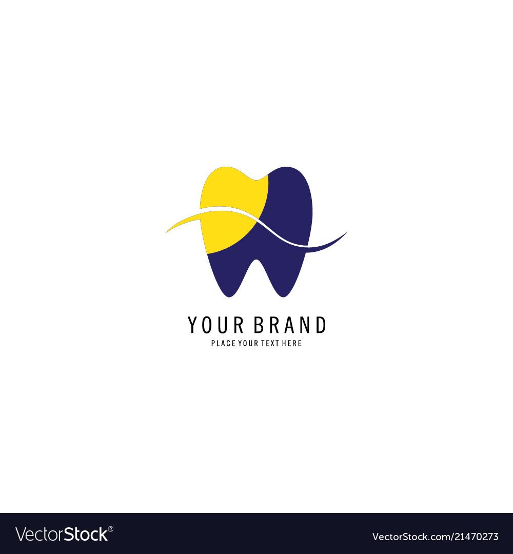 Dental care symbol logo