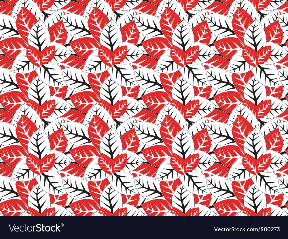 Seamless abstract leaves texture