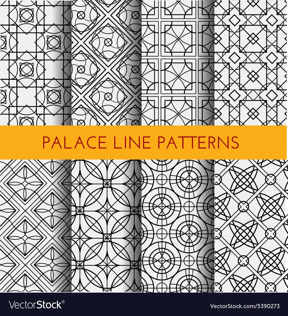Seamless pattern Royal pattern
