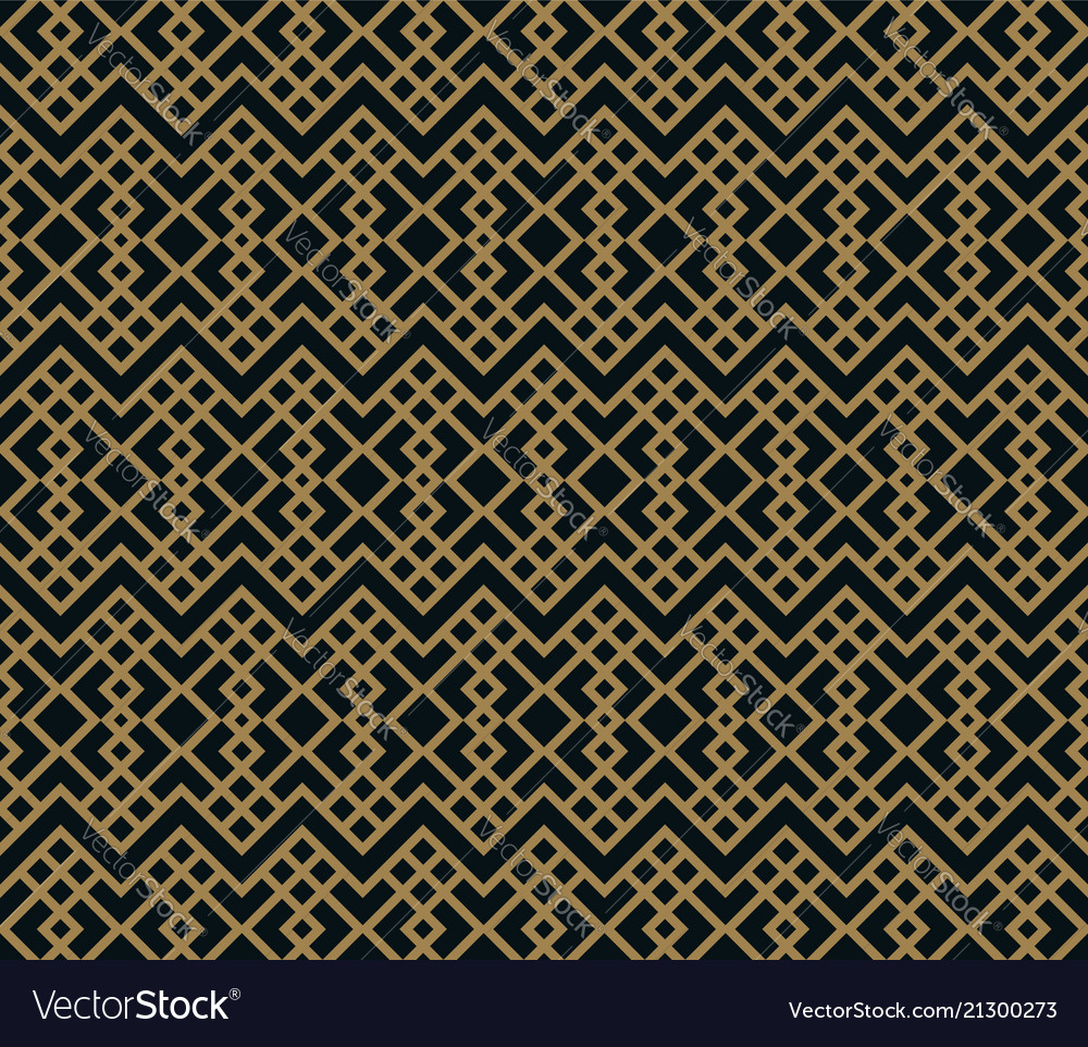 Seamless pattern with line ornament abstract