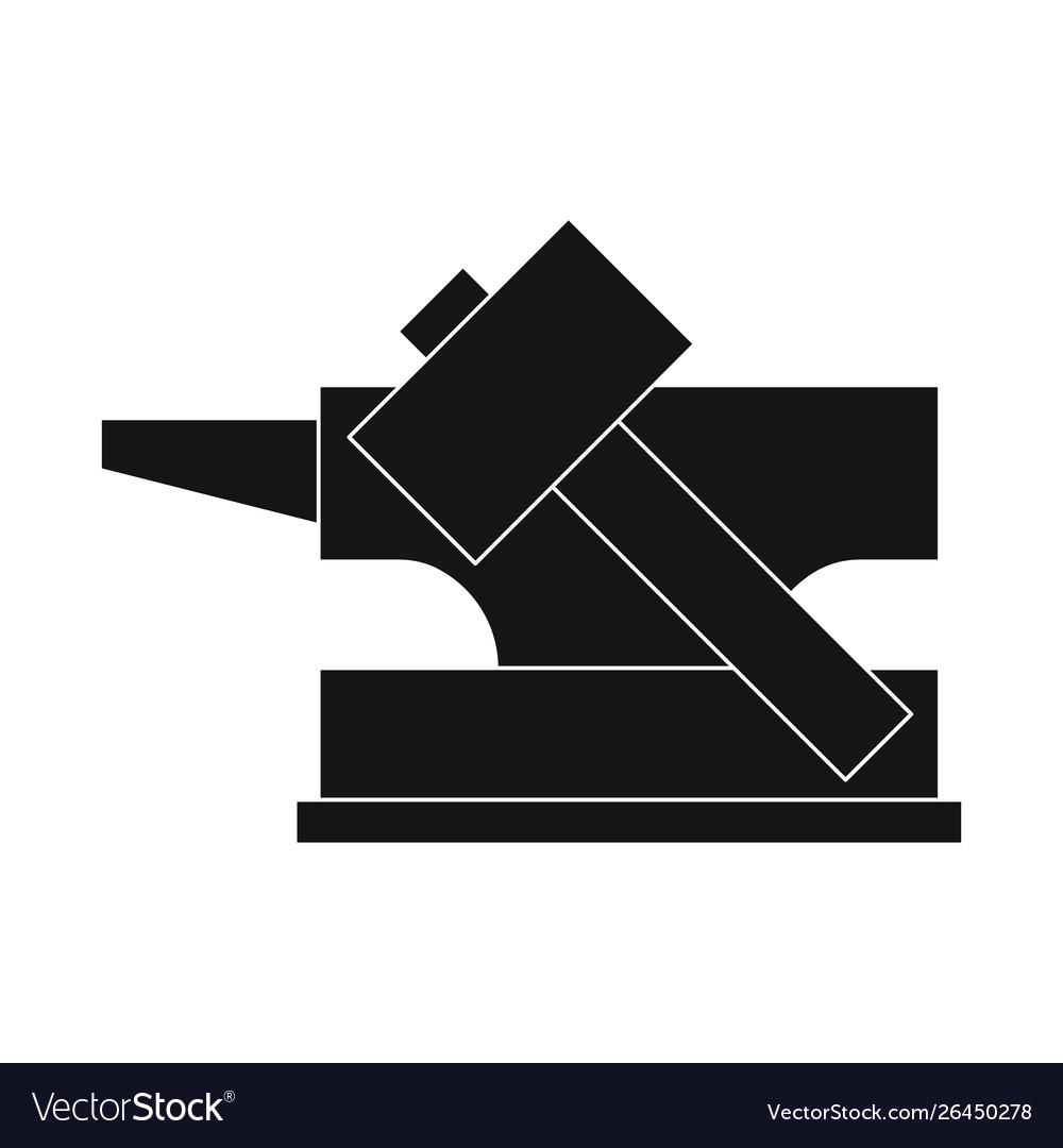 Design Hammer And Hephaestus Symbol