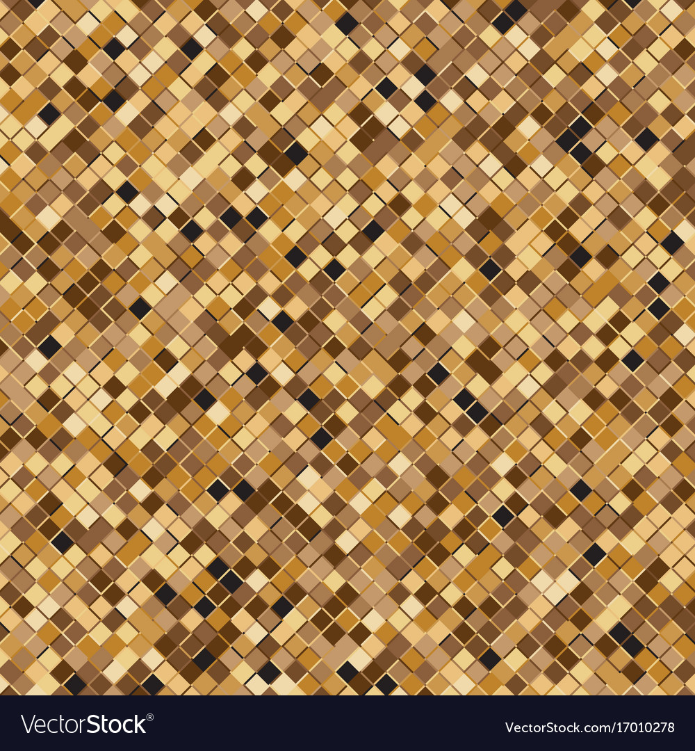 Gold square halftone abstract background
