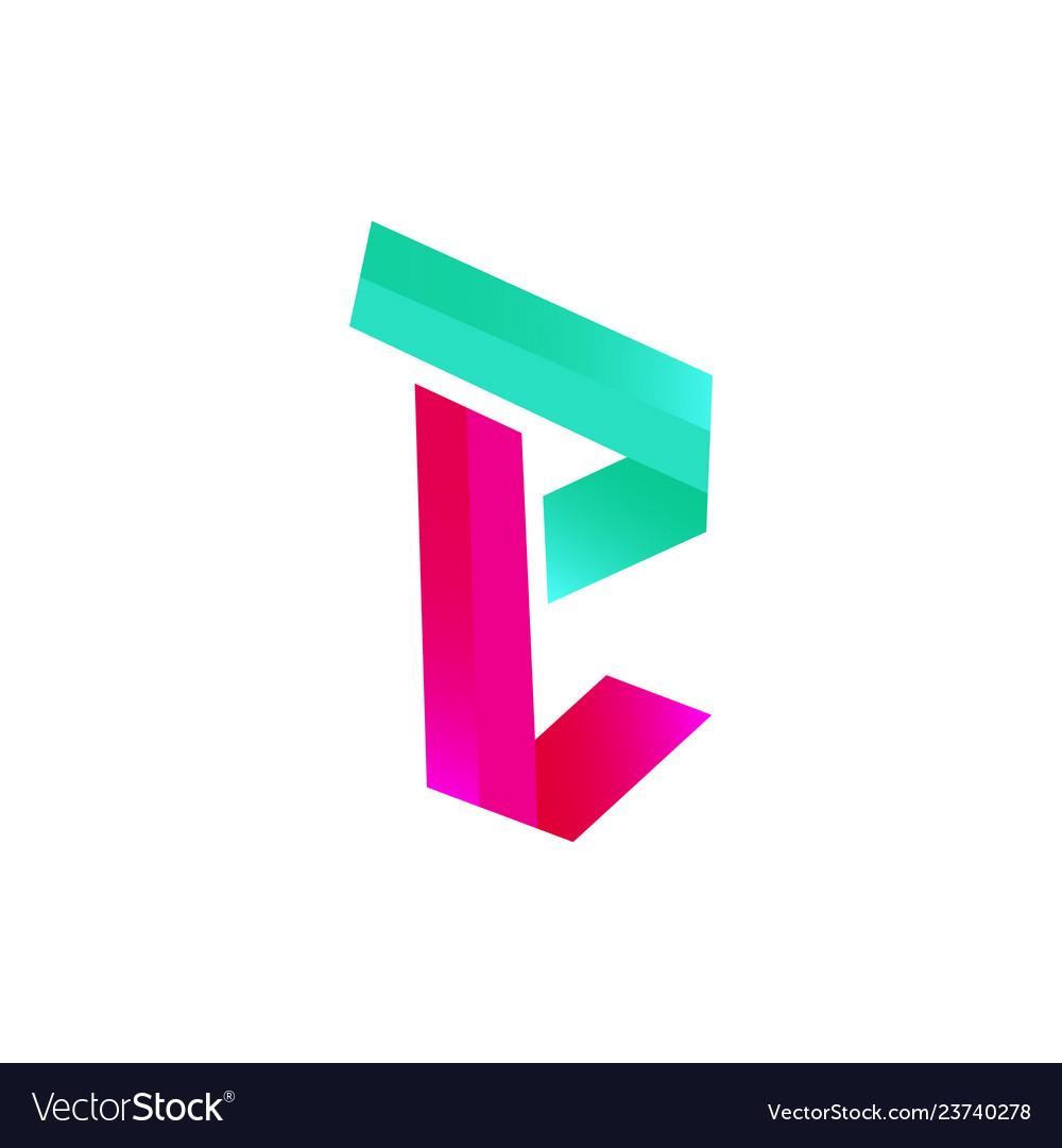 Modern initial letter e