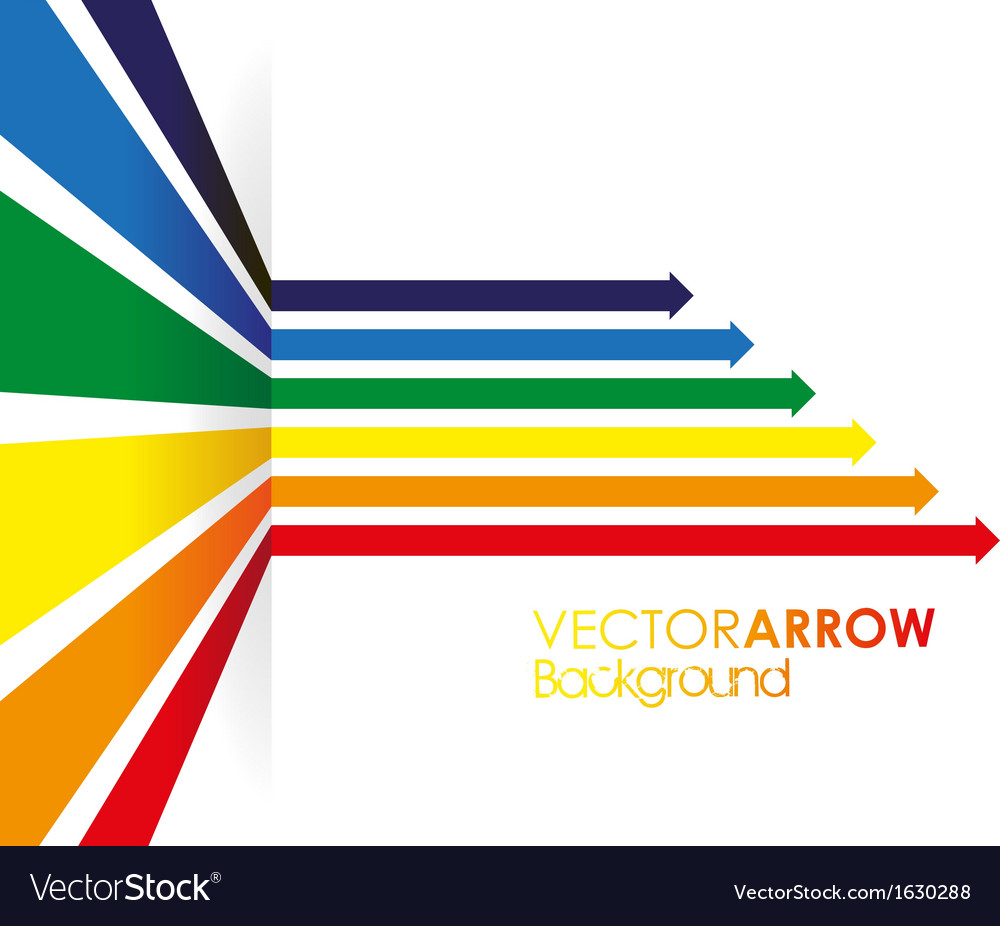 Coloured line strip background vector image