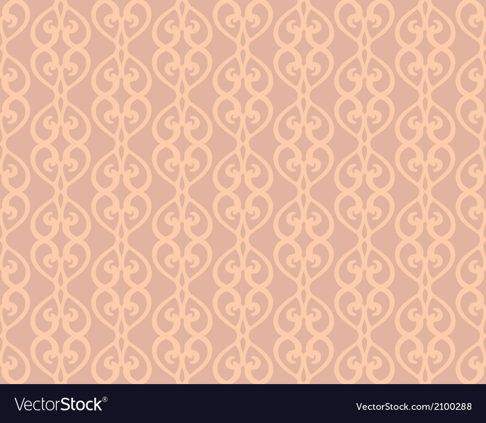 Pink Vintage Forged Lacing Seamless pattern vector