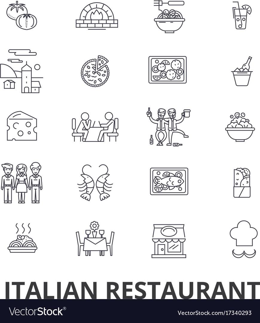 Italian restaurant kitchen spaghetti sea food
