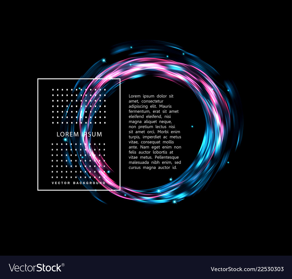 Abstract background with glowing bright