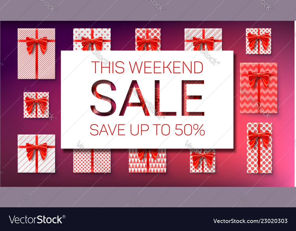 The weekend sale save up to fifty percent top