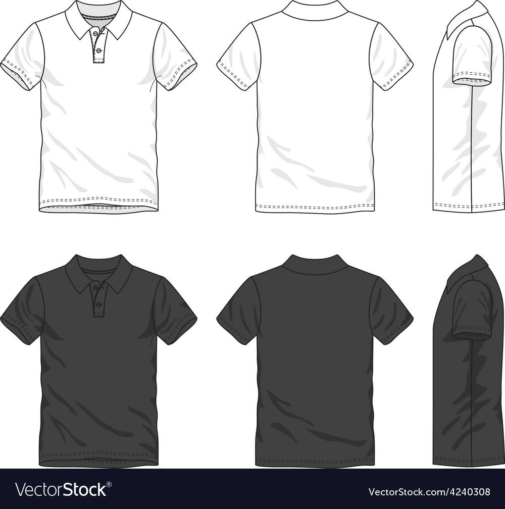 Blank polo shirt