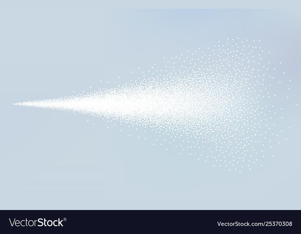 Spray mist atomizer cosmetic dust effect