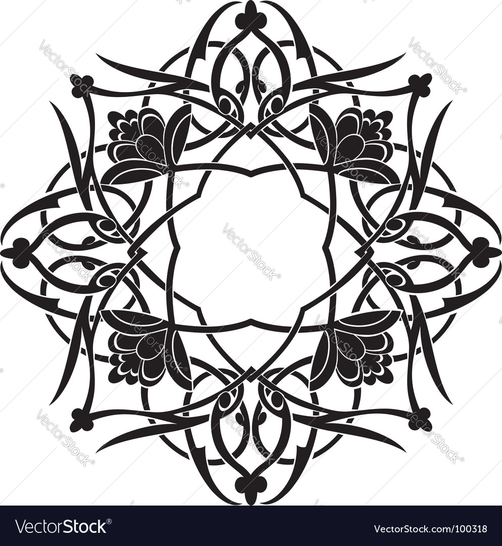 Arabesque vector image