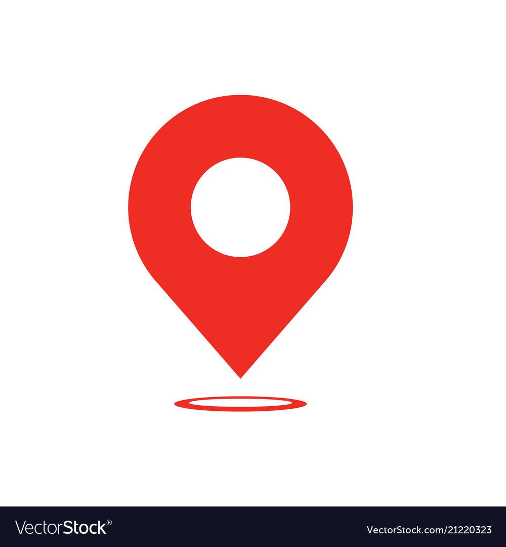 Map pointer icon - navigatiop symbol - map pin