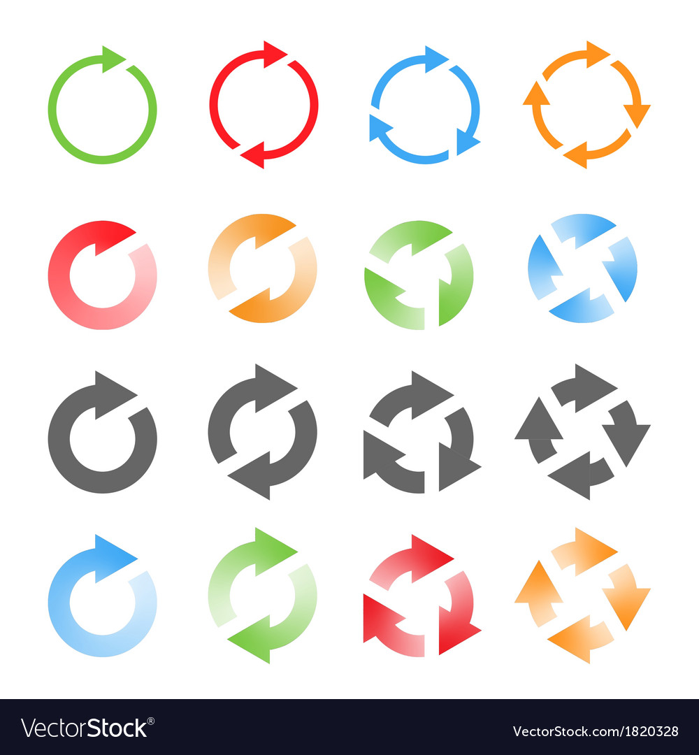 Rotating Arrows Set