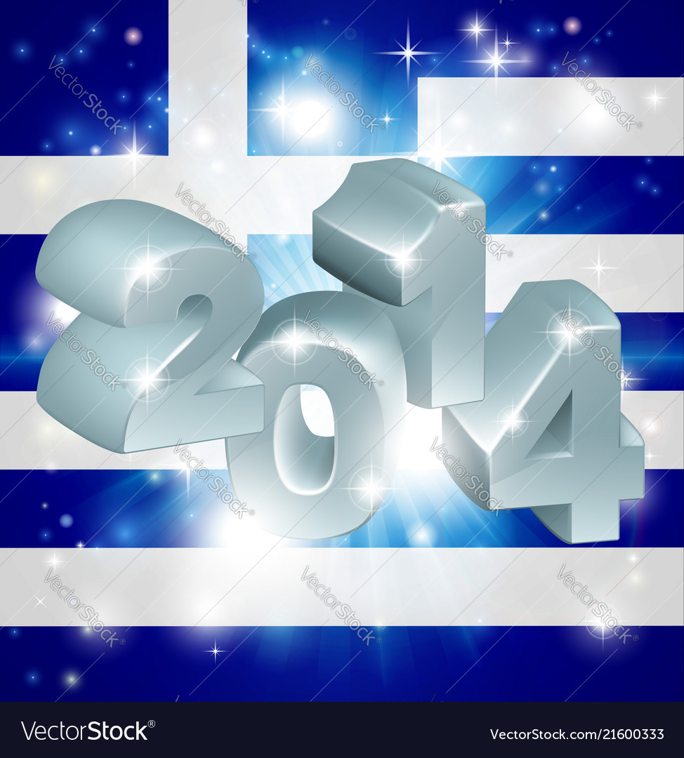 2014 greek flag
