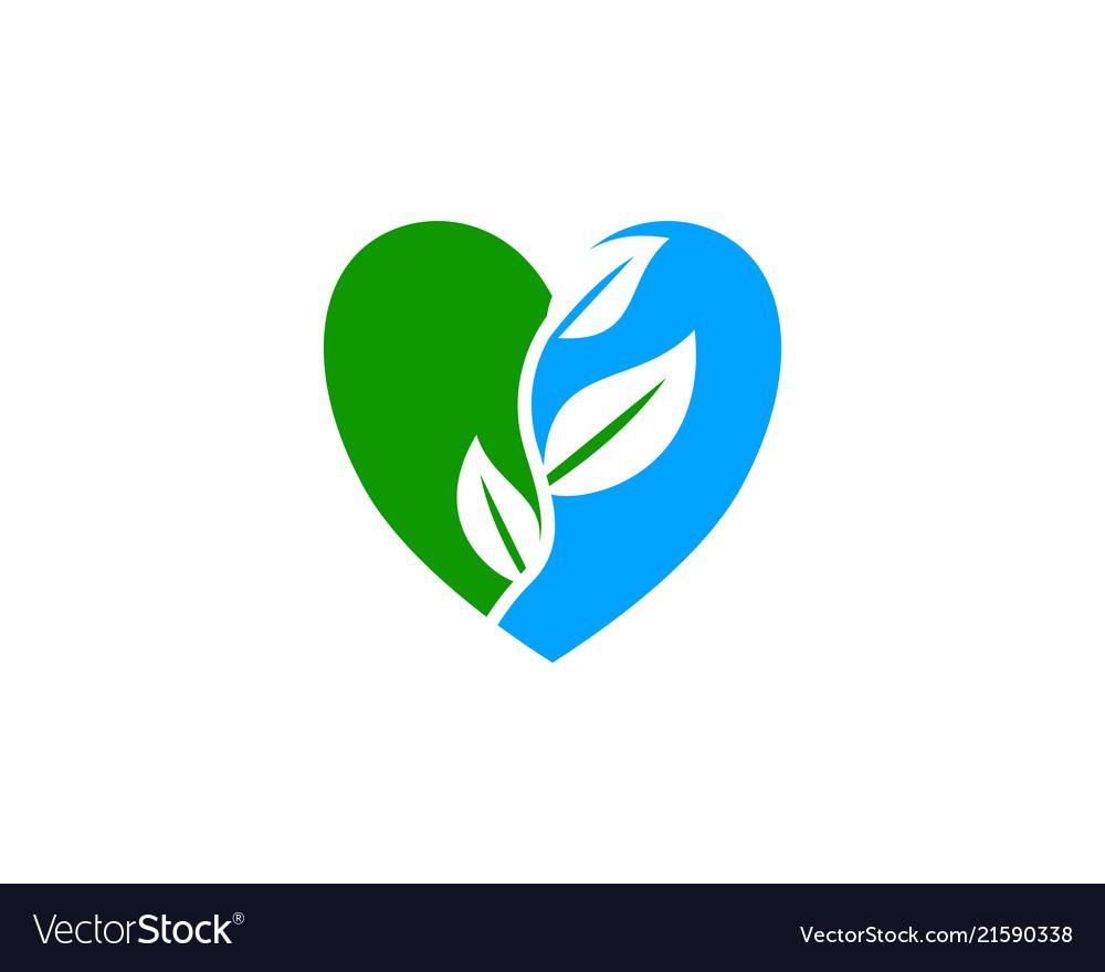 Leaf love logo