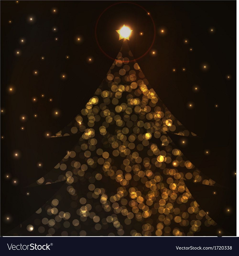 Most beautiful christmas trees Royalty Free Vector Image