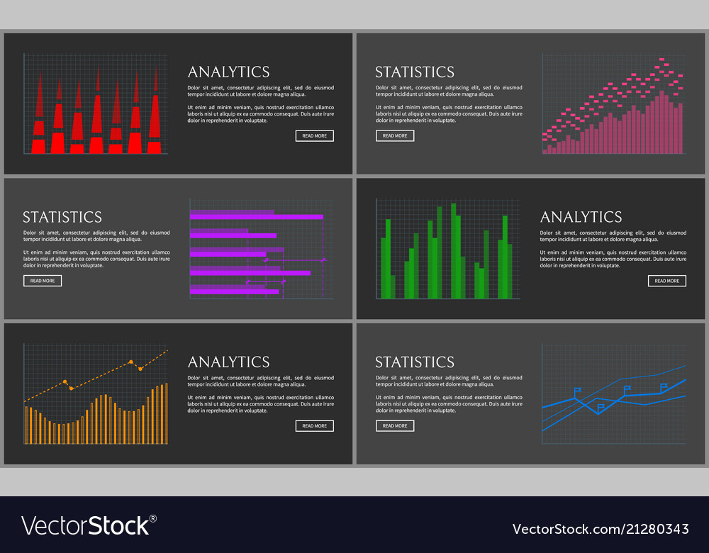 Analytics collection of pages