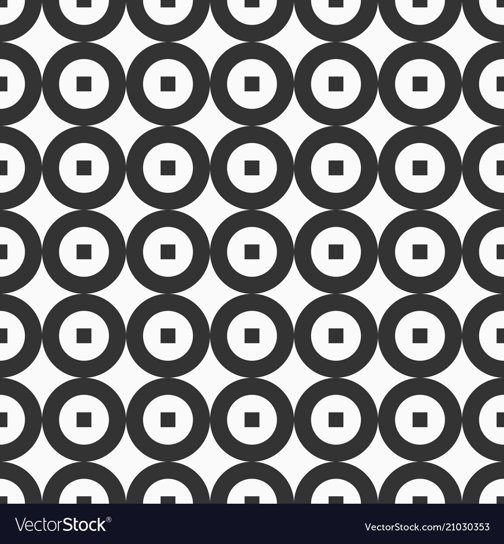 Abstract seamless pattern repeating geometric