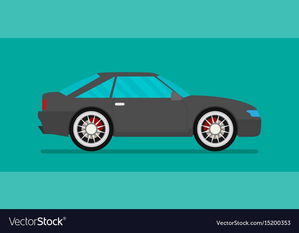 Flat car eps 10