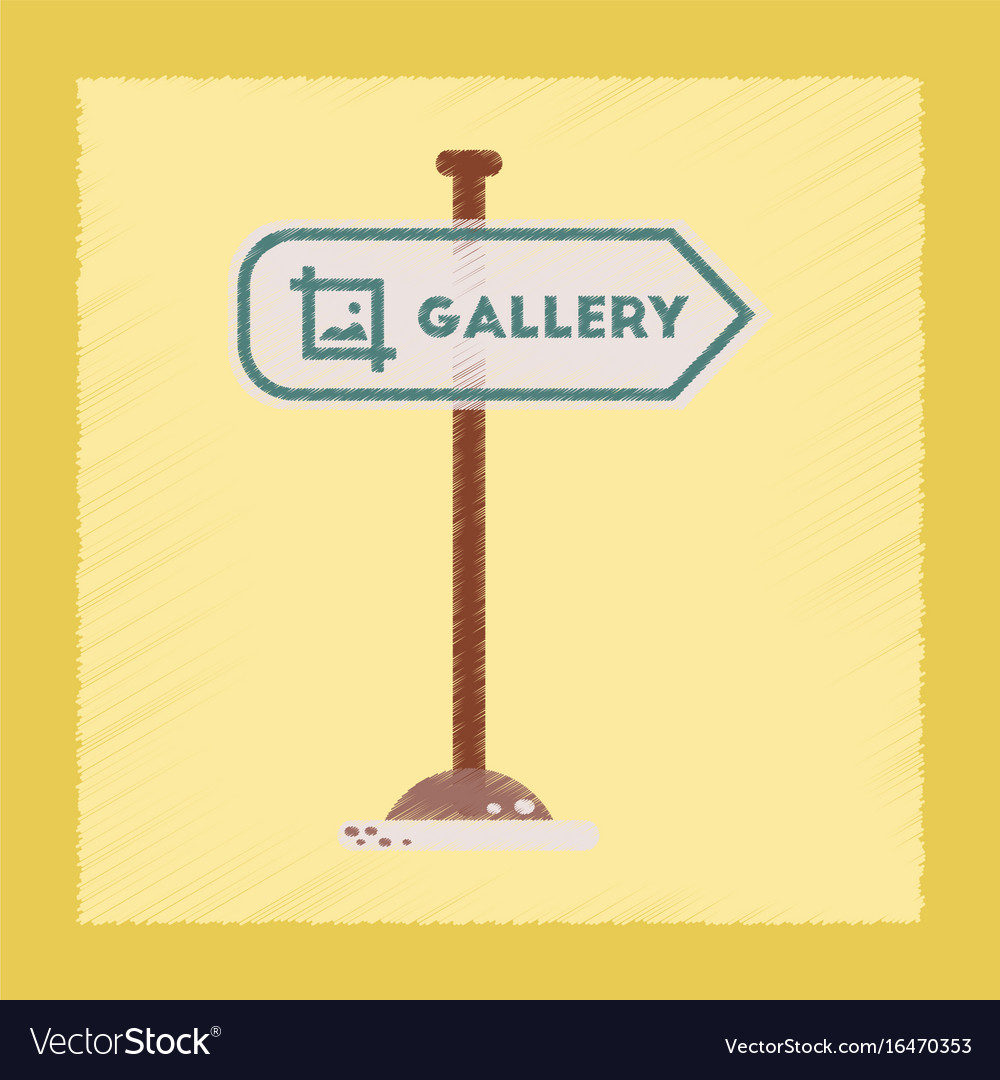 Flat shading style icon sign gallery