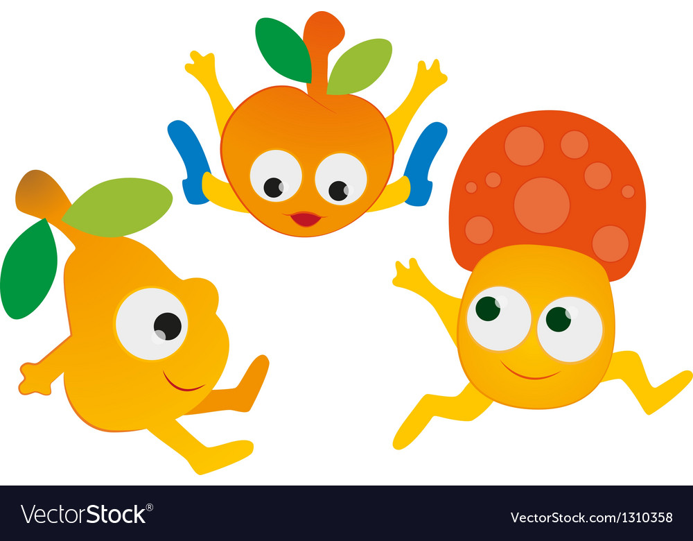 Baby Vegetables vector image
