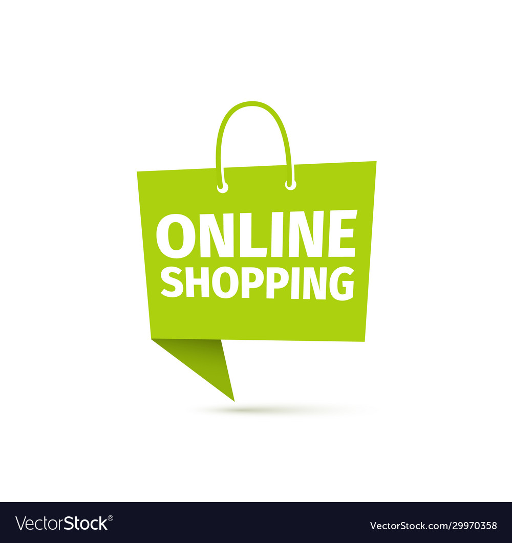 Online shopping icon delivery food sign e