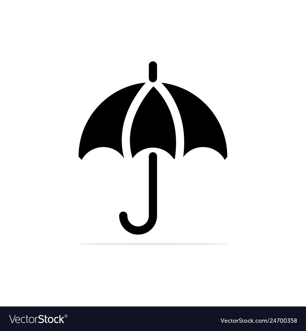 Umbrella icon concept for design