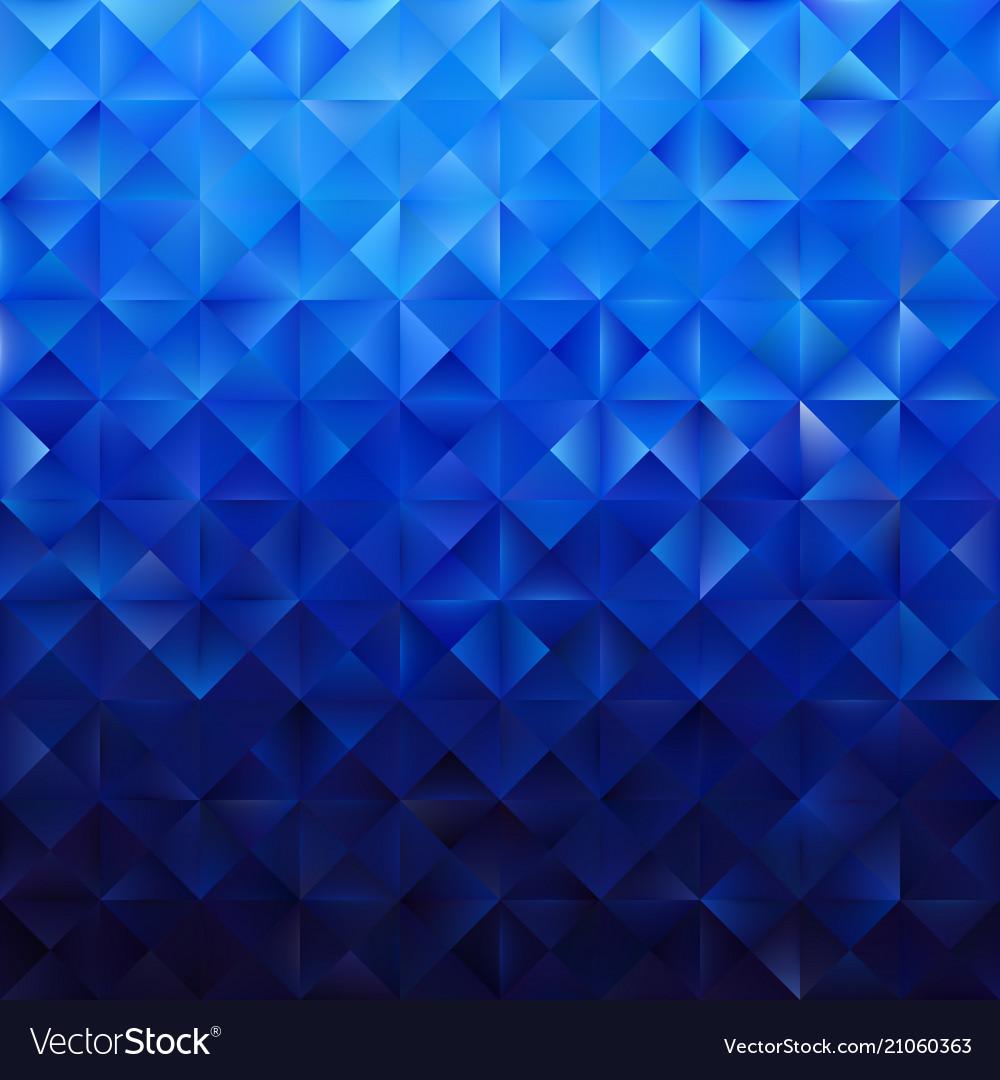 Blue geometric triangular pattern
