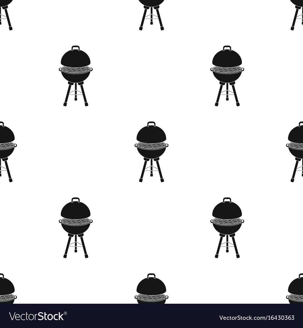 Grill for barbecuebbq single icon in black style