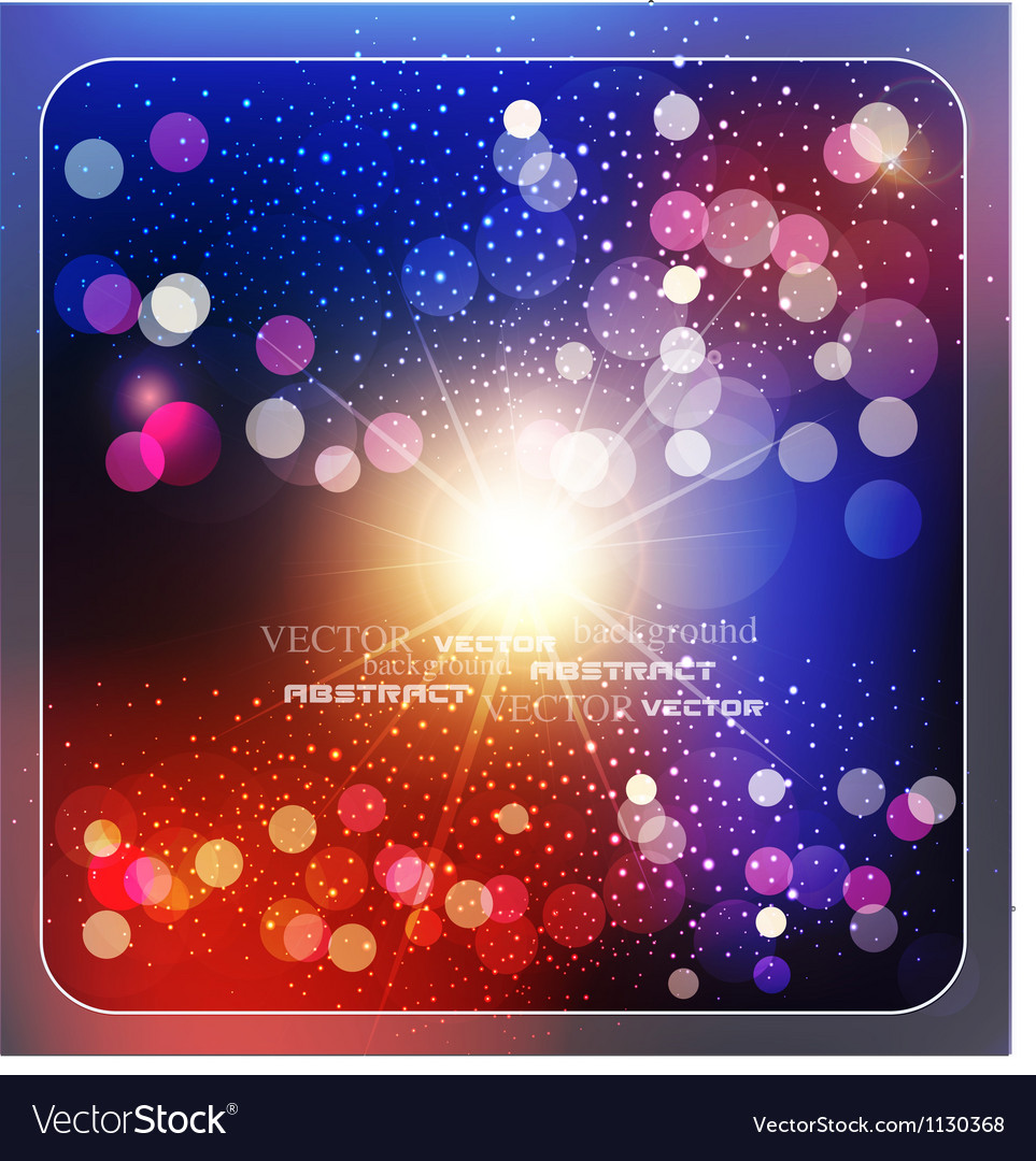 Colorful abstract background with rays