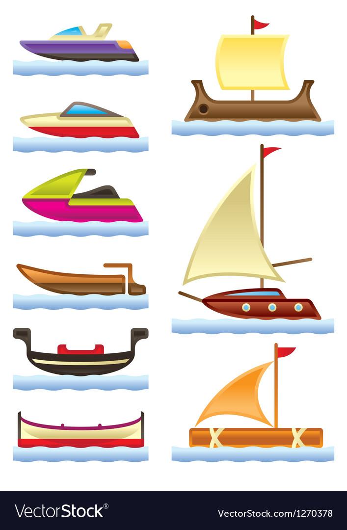 Sea and river boats
