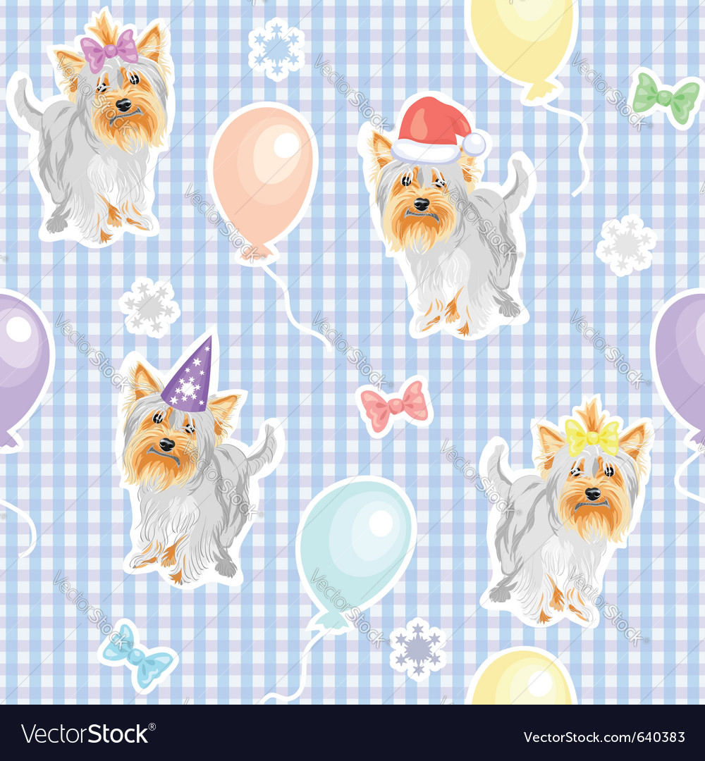 Funny dogs wallpaper Royalty Free