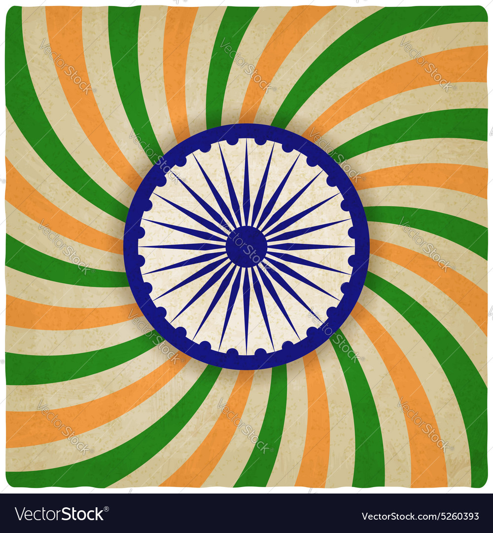 India independence day old background