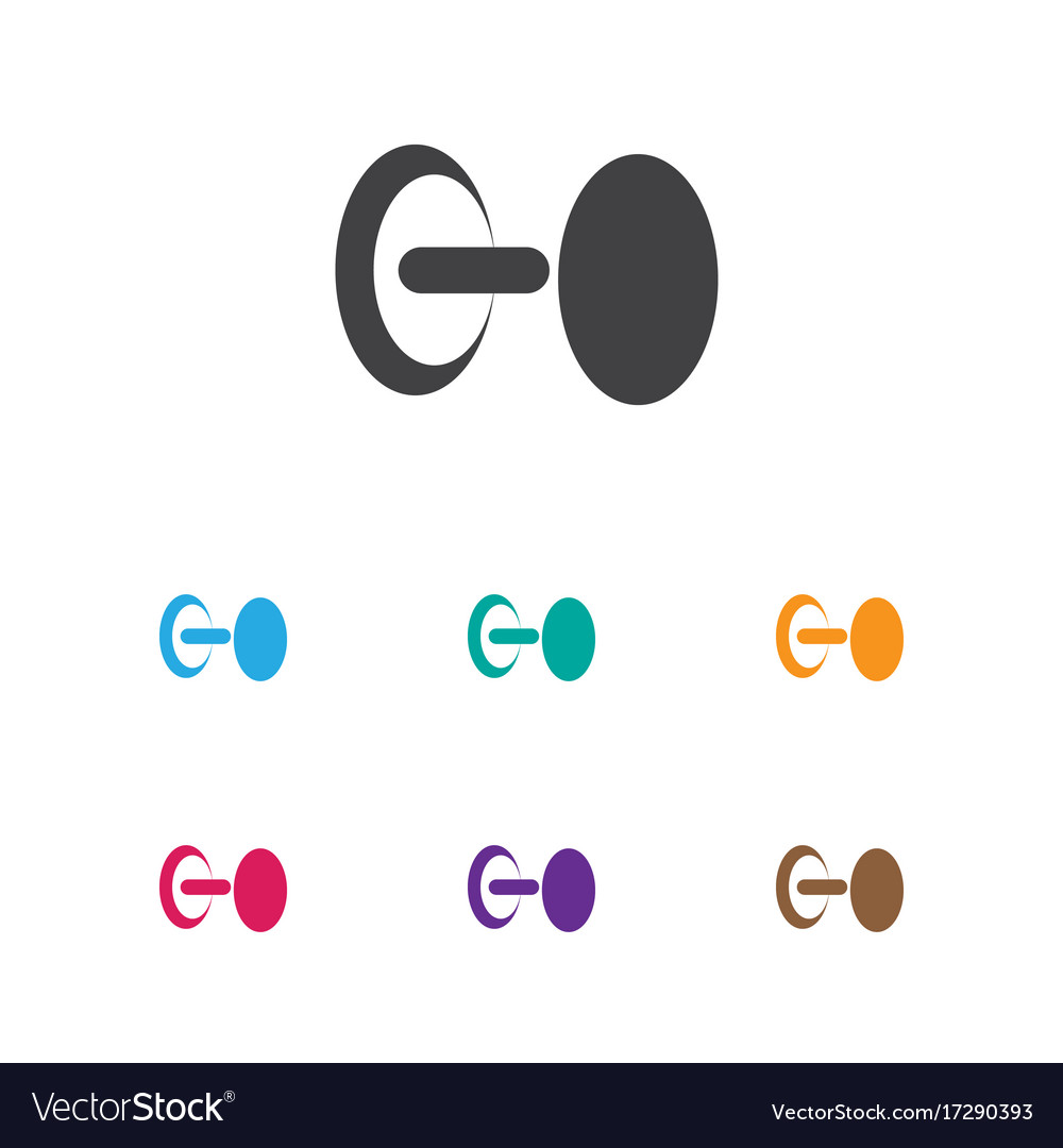 Of exercise symbol on