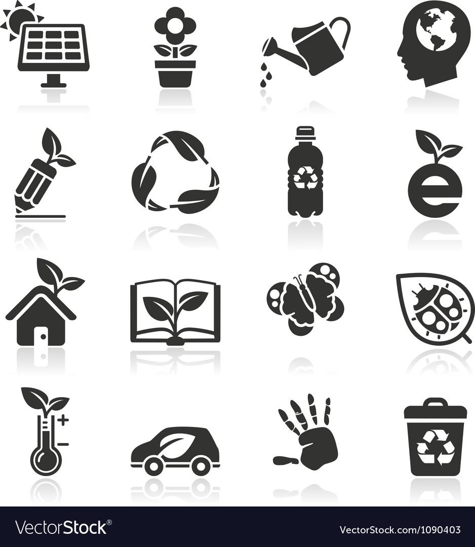 Ecology icons set2