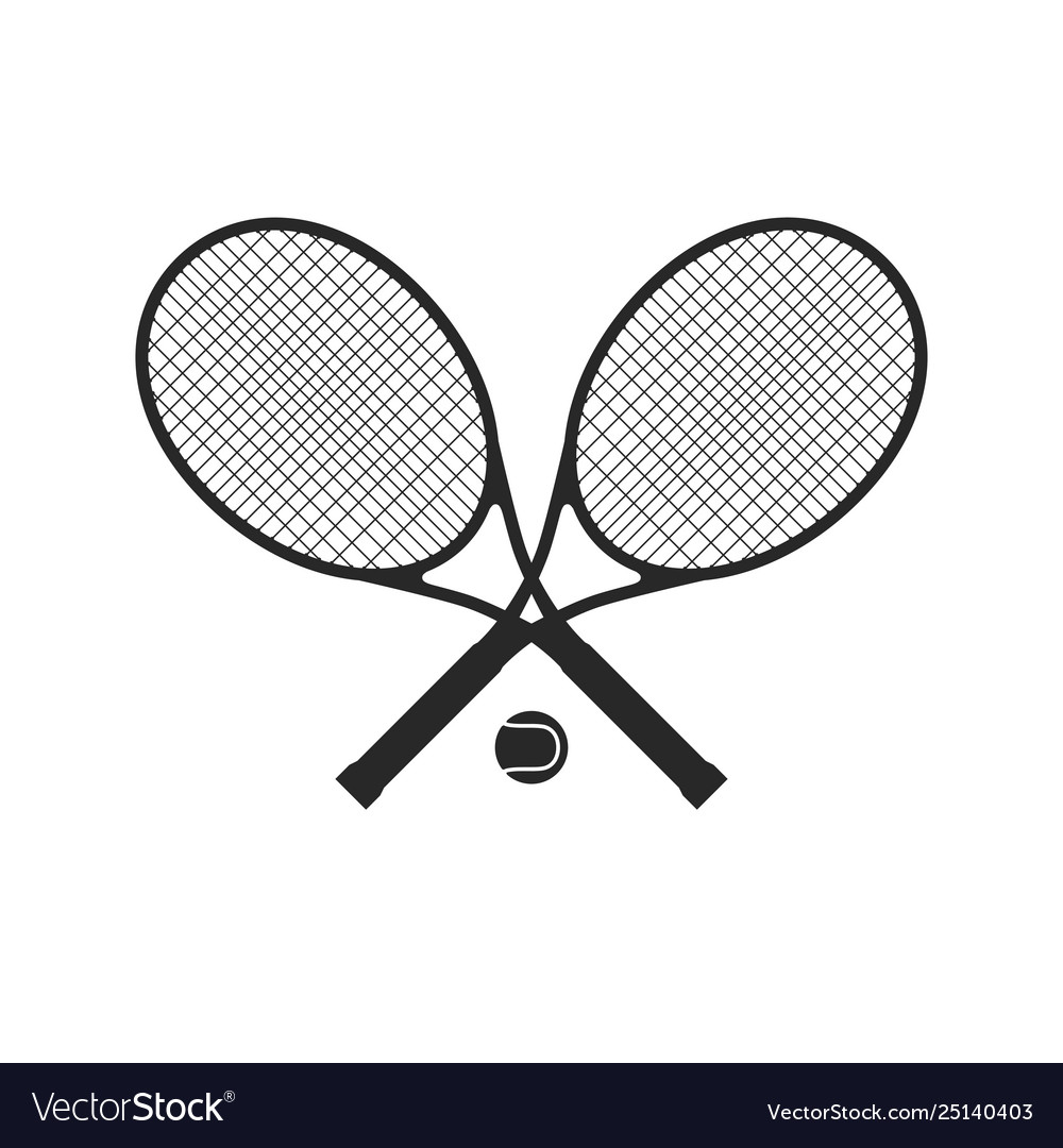 Tennis racquets with ball