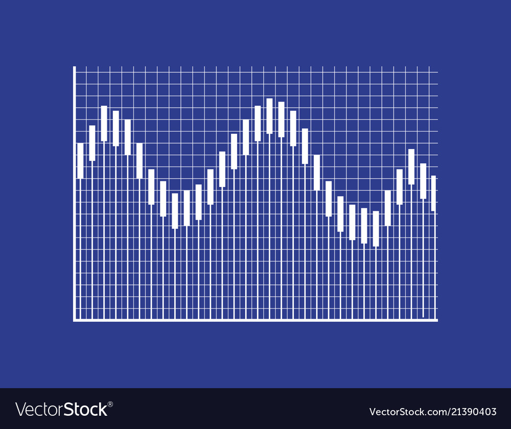 Visual graphic with thin bars on checkered field