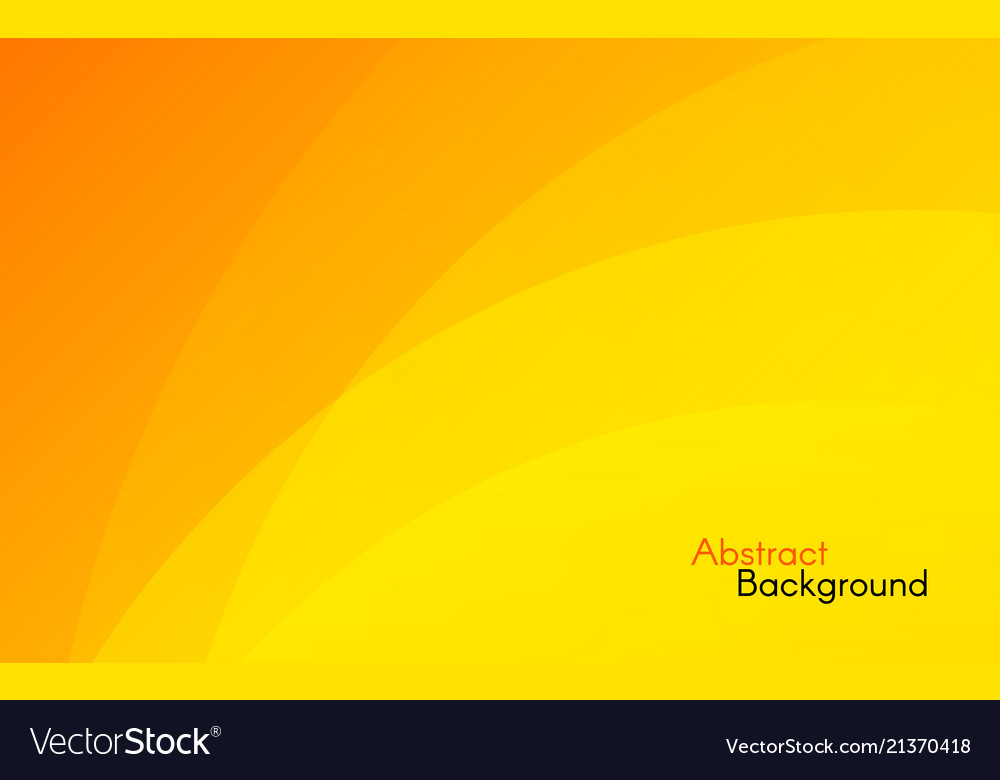 Orange background abstract sunny design yellow