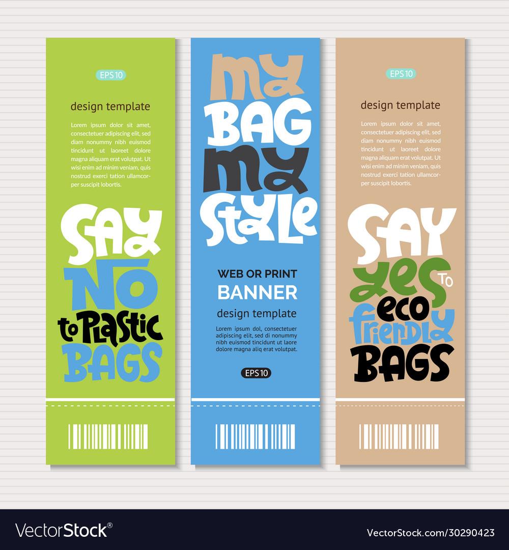 Keep bag lettering
