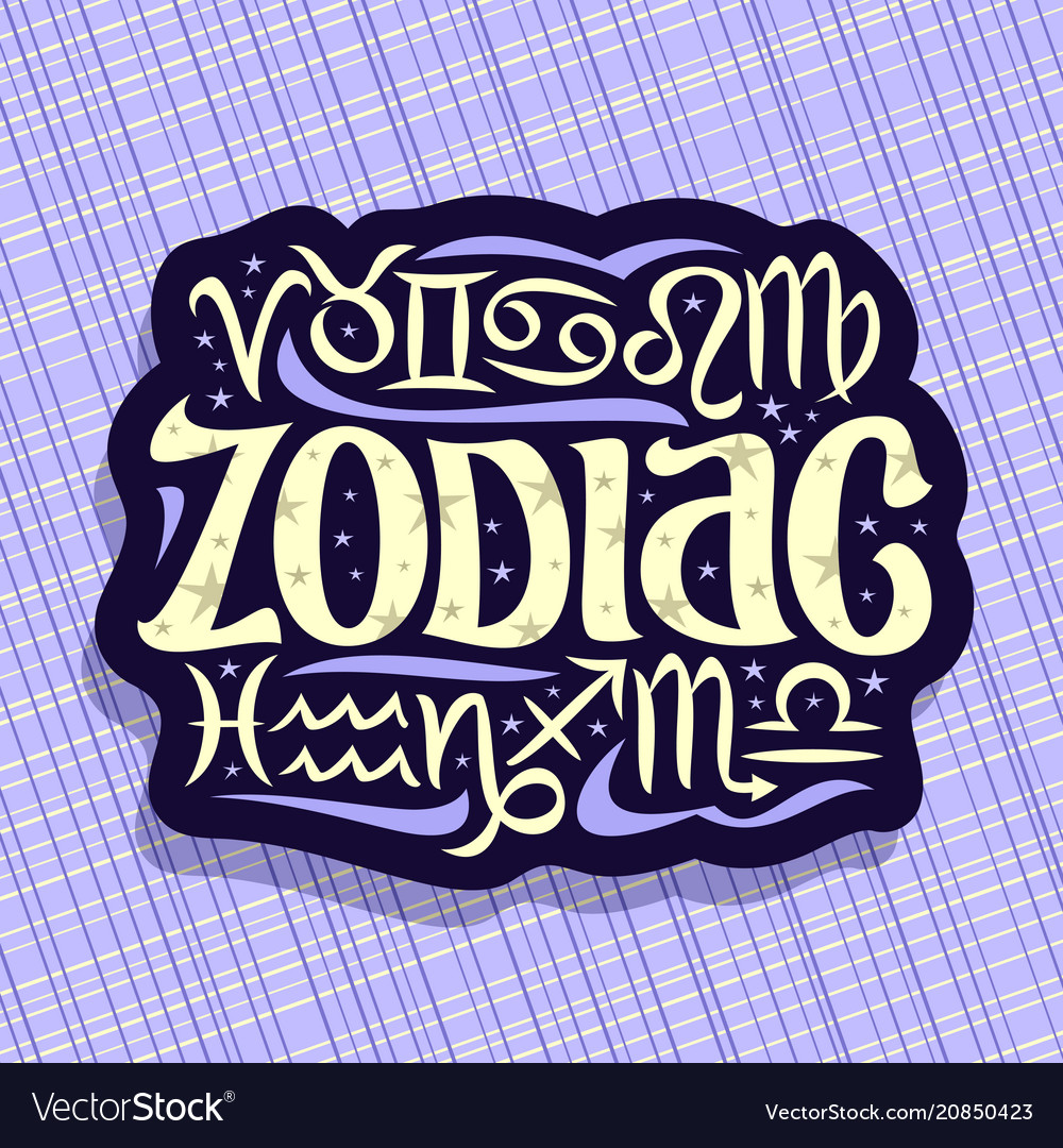 Logo for zodiac signs