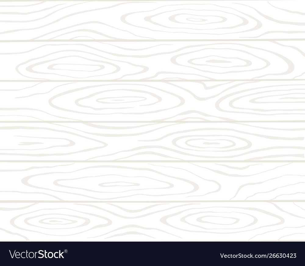 Realistic white wooden surface background top