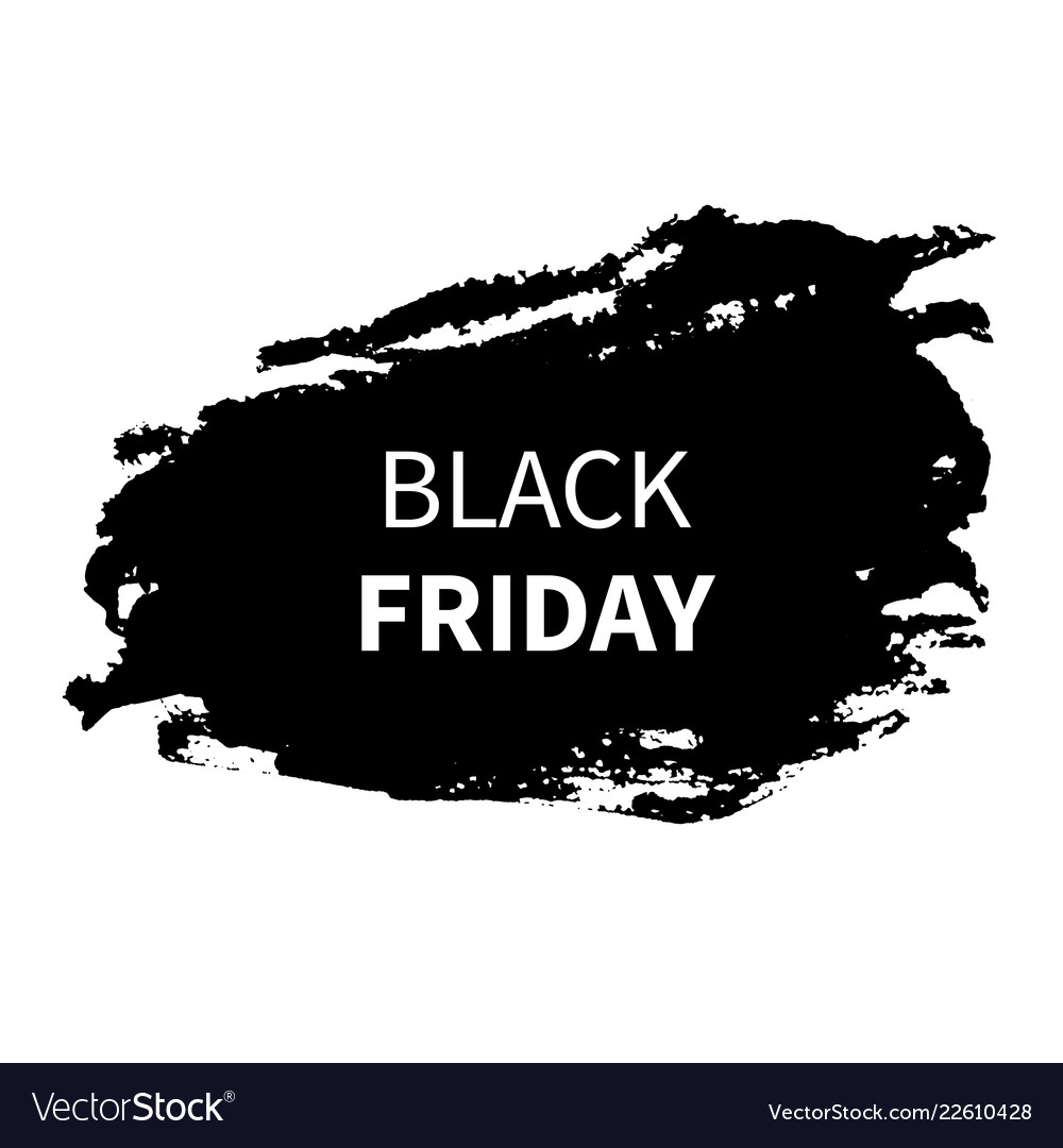 Black friday sale design template black friday