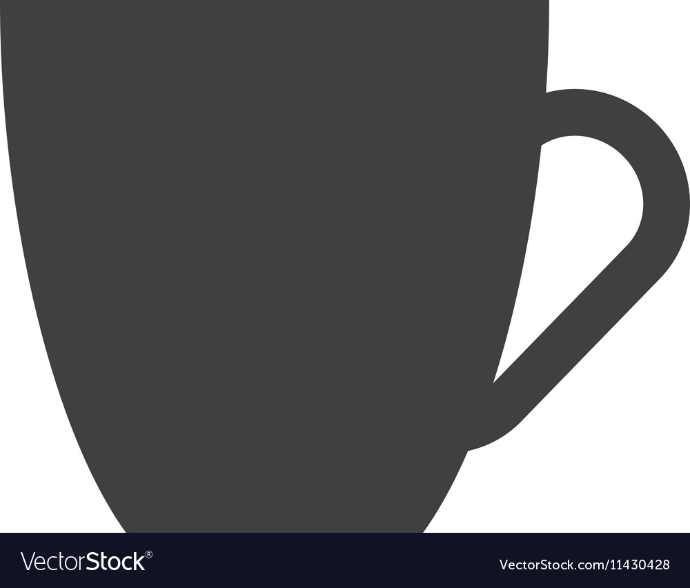Cup beverage isolated icon