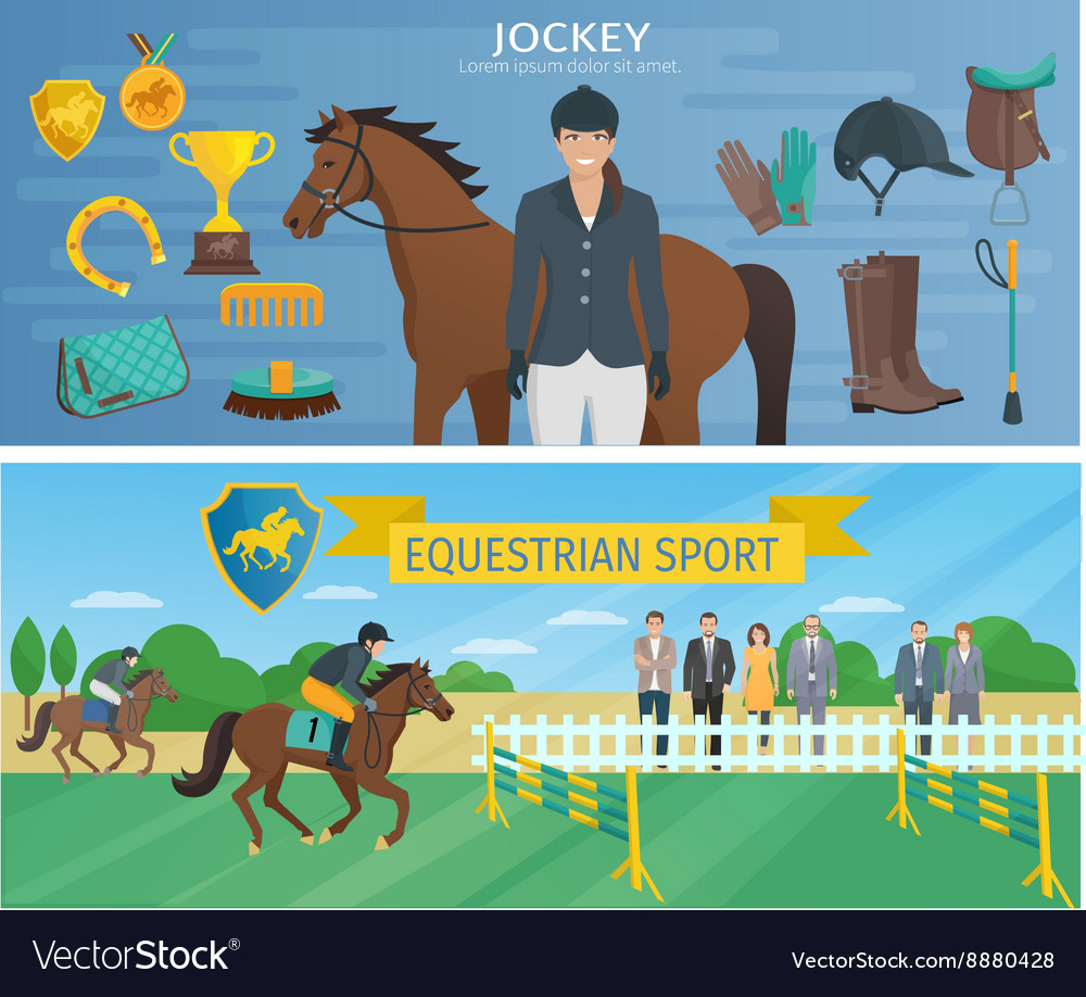 Horse Race Banners