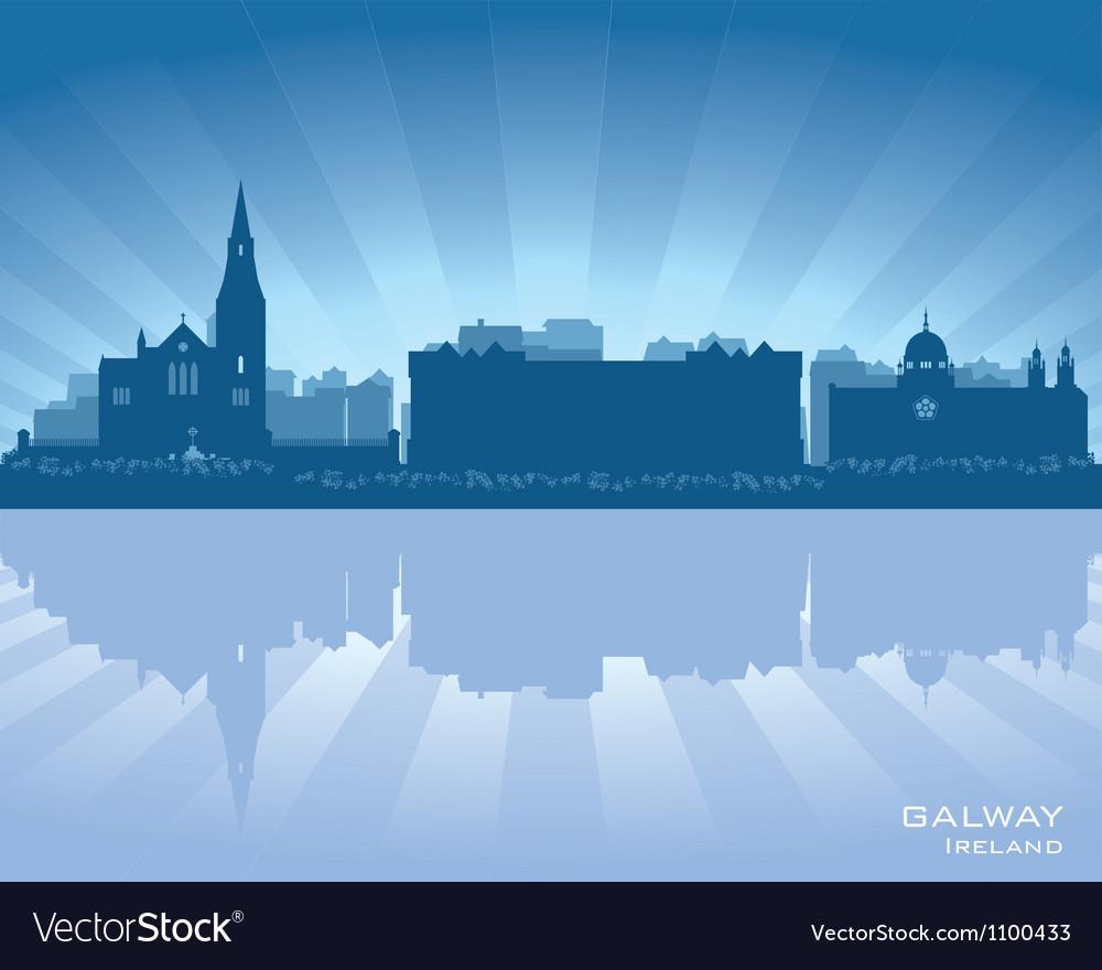 Galway Ireland skyline
