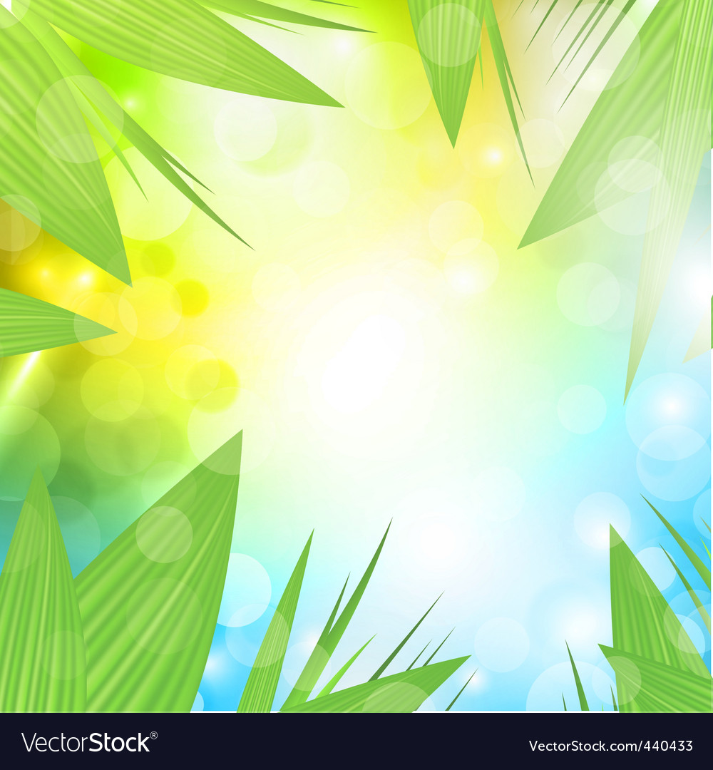 nature background royalty free vector image vectorstock