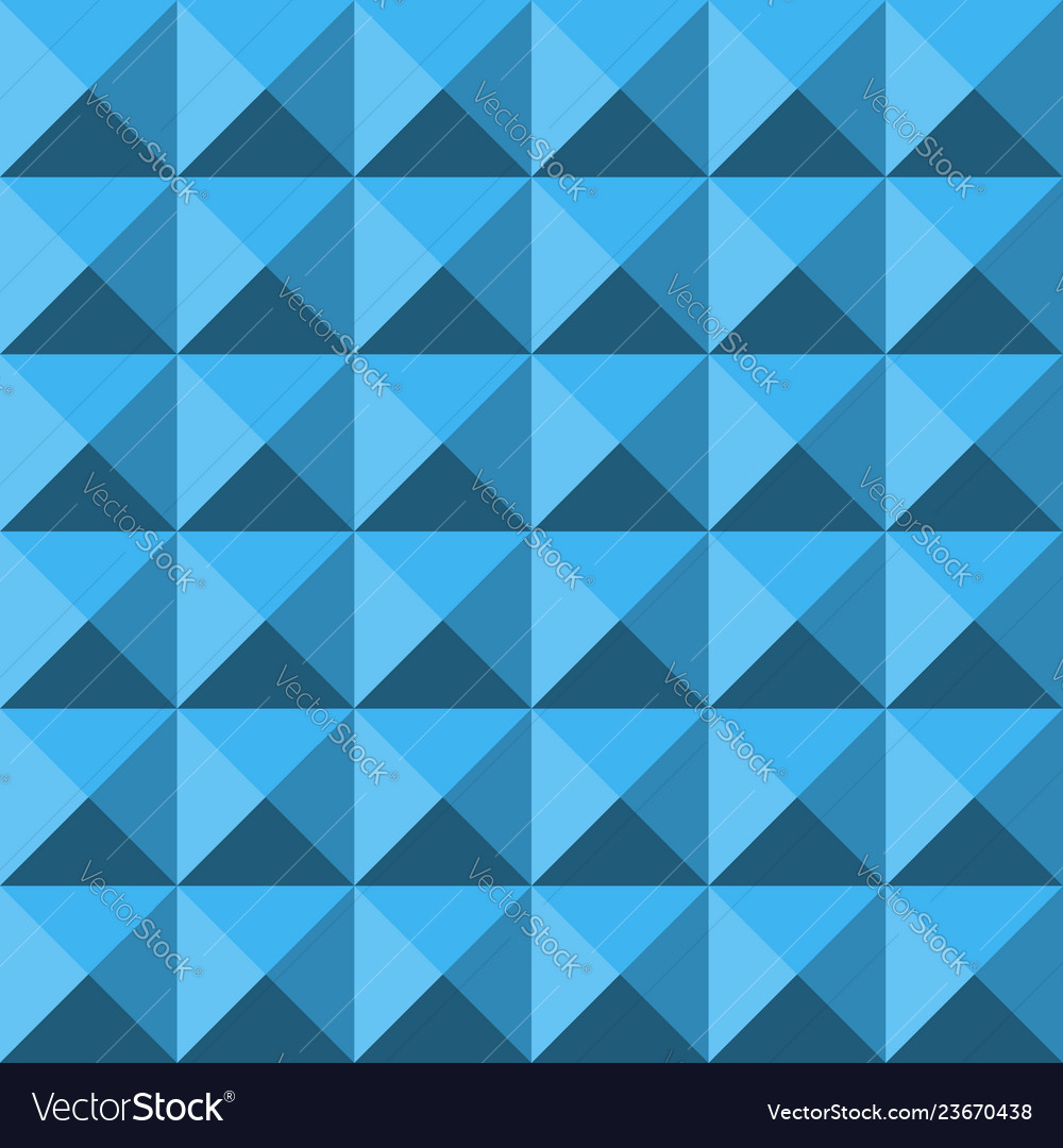 Blue abstract relief pyramid texture seamless